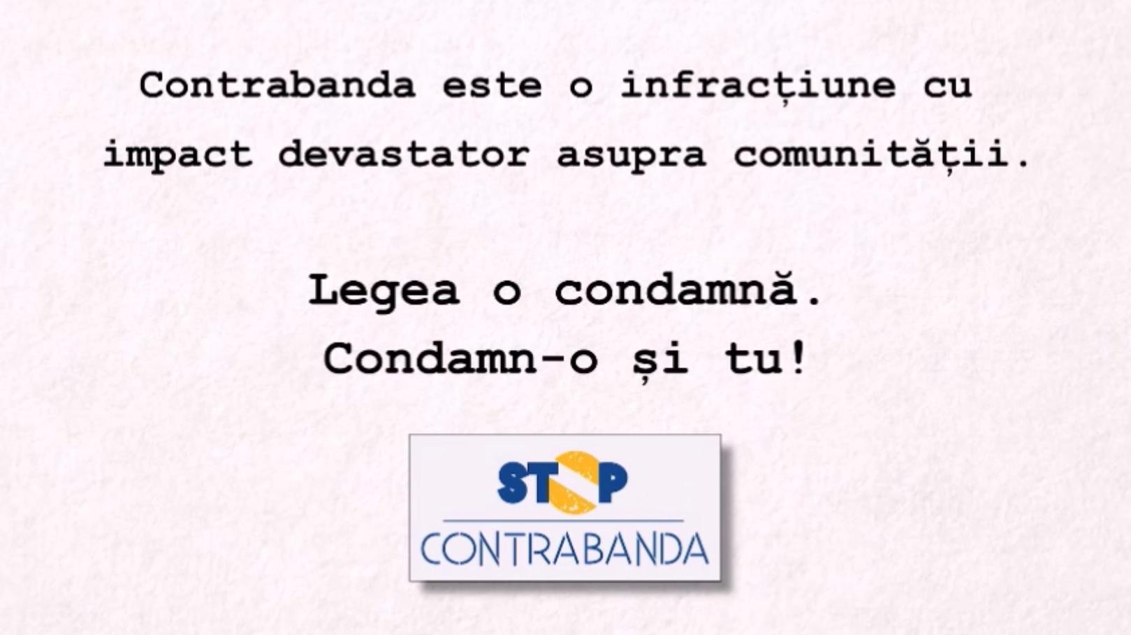 stop contrabanda