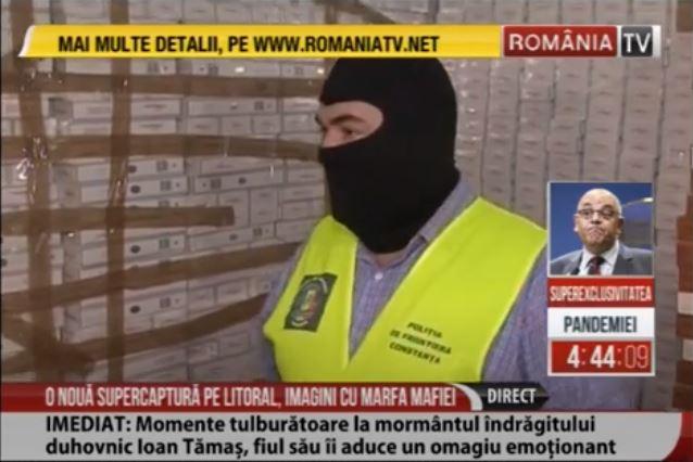Peste 400,000 cu țigări de contrabandă, descoperite în portul Constanța