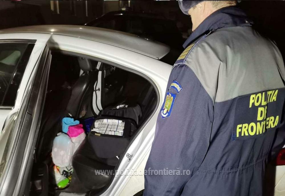 1.500 de pachete de țigarete fără timbru, confiscate de polițiștii din județul Neamț