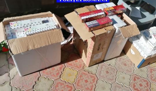19 percheziții, într-un dosar de contrabandă cu țigarete