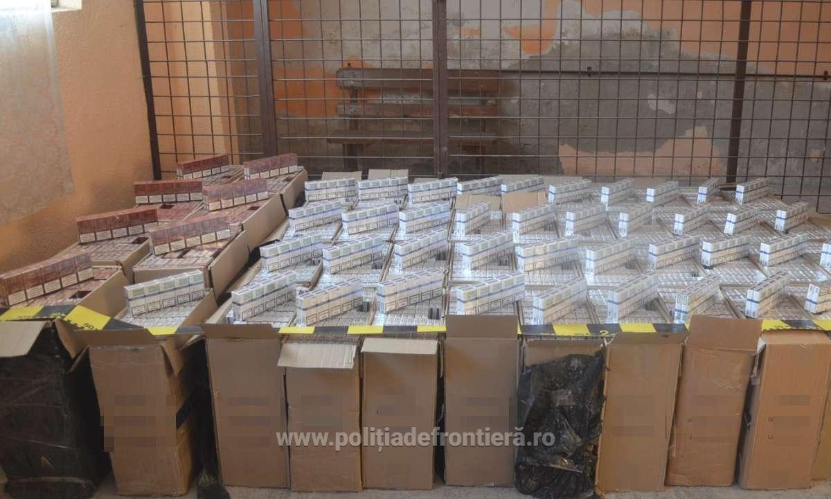 Ţigări în valoare de peste 280.500 lei, confiscate la frontiera cu Ucraina