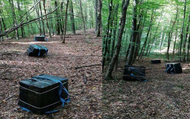 Botoșani: Au fost descoperite șase colete cu peste 9.000 de țigarete
