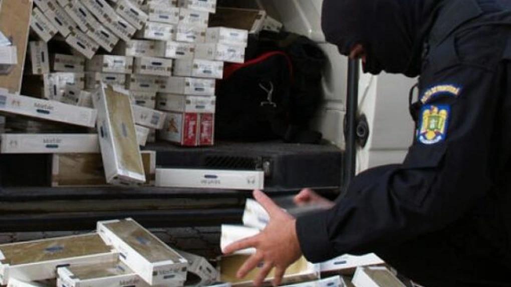 Contrabanda cu ţigarete a crescut în România până la 8,3%, în septembrie
